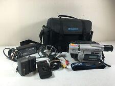 Sony DCR-TRV520 Digital 8 Handycam w/Case and Extras 8mm Hi 8 Video Transfer