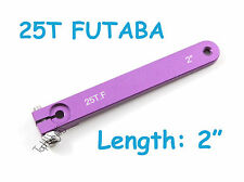 "1pc 2"" Heavy Duty Aluminum 25T for Futaba/Savox Servo Arm US Seller TH007-03812"