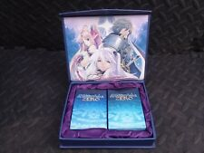 Record of Agarest War Zero Boxed Set Playing Cards Collectible Playstation PS3