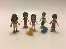 Lego MiniFigure FRIENDS Lot Emma Olivia Parents Andrea Joanna Animals Retired