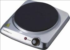 New Maxim 1500W Portable Single Hotplate Hot Plate Cooktop Grill HP1