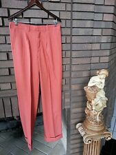NWT MEN PANT BY GIORGIO INSERTI COLOR 104-COGNAC SIZE 44