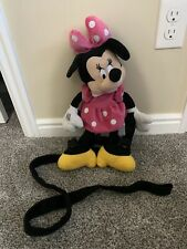 Gold Bug Minnie Mouse Backpack Toddler Harness Leash Safety Disney Pink Dress
