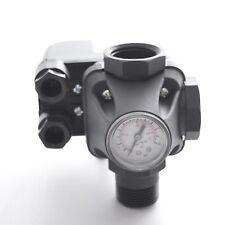 Druckschalter + 5-Wege-Verteiler + Manometer für Hauswasserwerk Gartenpumpe