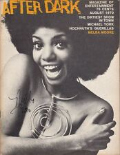 "Melba Moore   SIGNED  ""After Dark""  Magazine  1970   PHOTOS"
