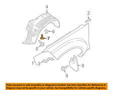 NISSAN OEM-Fender Liner Splash Shield Push Clip Retainer Blind Rivet 638489Y000