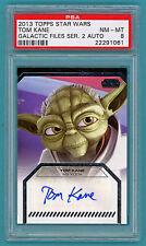 2013 Topps Star Wars Series 2 Tom Kane Auto Issue – PSA 8! POP 1!