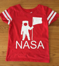 Girls Kids Buzz Aldrin Space T Shirt Size M 6/7 Girls Nasa T Shirt 6y 7y