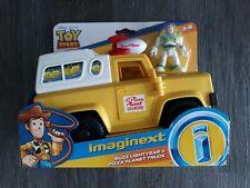 TOY STORY Disney Pixar Imaginext BUZZ LIGHTYEAR & PIZZA PLANET TRUCK NEW!