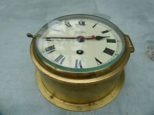Smith's Astral ships bulkhead clock in very good condition