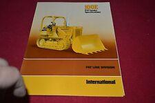 International Harvester 100E PayLoader Crawler Tractor Dealer's Brochure YABE10
