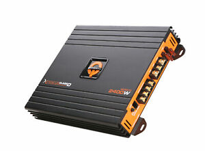 Quantum Audio 2400 Watt Class-D Monoblock  Amplifier Car Subwoofer Amp 1 Channel