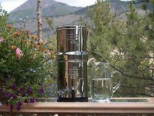 BIG BERKEY w/ Black filters & PF2 fluoride filters 2.25gal BERKEY Water Filters