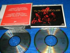 2 CD The Clash Story Of The Clash 1988 cbs 15 & 13 titres