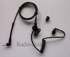 Sepura BLACK Acoustic Tube Earpiece SRP2000 SRP3000 SRH3500 SRH3800 SRH3900