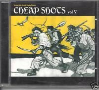 CHEAP SHOTS Vol 5 - 25 Bangin' Tracks swedish ROCK ALT  (CD 2001) NEW RARE