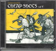 CHEAP SHOTS Vol 5 - 25 Bangin' Tracks swedish ROCK ALT  (CD 2001) NEW RARE