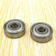 2pcs 627ZZ Miniature Bearings ball Mini Bearing (7mm*22mm*7mm)