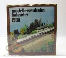 Modellbahnkalender 1988 Verlag Bild und Heimat Karl Köhler und Plauen