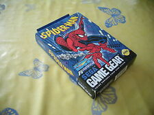 >> SPIDERMAN SPIDER-MAN SEGA GAME GEAR US NOS BRAND NEW OLD STOCK! <<