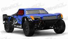 1/14 Tacon Thriller Short Course RC Truck Electric BRUSHLESS Ready to Run BLUE