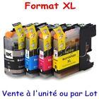 Cartouches d'encre compatibles imprimantes Brother - Séries LC123 LC125 LC127 XL
