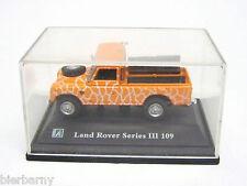 Land Rover Serie III 109 Safari Modell 1:72 Hongwell Metall Selten RAR Ansehen