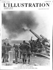Guerre front de l'est artillerie Wehrmacht soviétiques WWII 1941 ILLUSTRATION