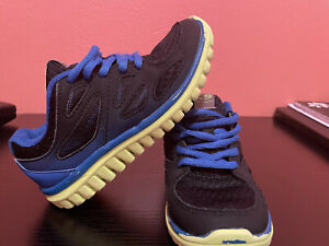 Black And Blue Champion Kids Shoes Size 13
