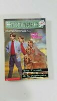 animorphs the threat k.a. applegate  paperback