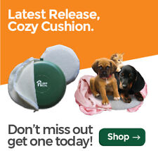 Microwave Heat Disc COZY CUSHION by HoundHouse For all small & Fluffy pets