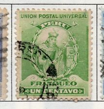 Peru 1895-1902 Early Issue Fine Used 1c. 182257