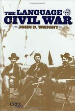 The Language of the Civil War:-ExLibrary