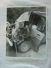 Vintage Photo circa 1976 Chevrolet Van Wreck 804