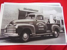 1952 CHEVROLET  PICKUP     BIG 11 X 17  PHOTO /  PICTURE