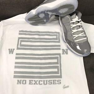 Shirt To Match Jordan 11 Low Cool Grey - Win 23 Tee
