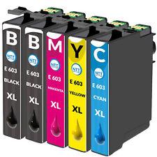 Druckerpatronen für Epson 603XL XP-2105 XP-3100 XP-3105 WF-2830DWF WF-2835DWF