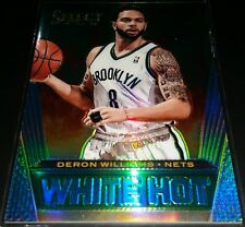 Deron Williams 2013-14 Select WHITE HOT GREEN PRIZM Parallel Card (#'d 2/5)