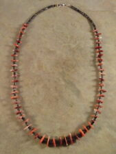 Santo Domingo Red Spiny Oyster & Heishi Necklace
