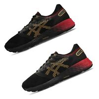 Asics Roadhawk FF 2 FlyteFoam Black Red Gold Womens Mens Running Shoes Pick 1