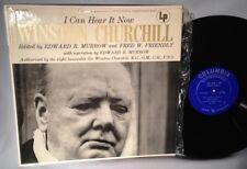 LP WINSTON CHURCHILL I Can Hear It Now (Edward R Murrow) CANADA ML 5066 NRMT
