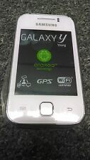 Samsung Galaxy y Young Phone S5360 Micro SD Slot 4GB Smartphone - White