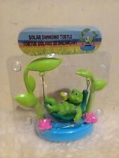 New Dancing Solar Powered Character Swinging turtle with own solar panel