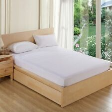 Terry Waterproof Mattress Protector Cotton Soft Fitted Protector Sheet new