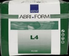 Abena 4168 Abri-Form Briefs, X-Plus, Large L4, Case/36 (3/12s)