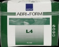 Abena 4168 Abri-Form Briefs, X-Plus, Large L4, Pack of 12