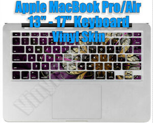 """Any 1 Vinyl Decal/Skin for MacBook Pro/Air 13-17"""" Keyboard (Not 11"""") - Free Ship"""