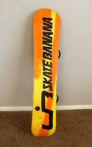 Lib Tech Skate Banana Wide Banana  Snowboard (Comes with Union Binding)