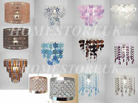 LIGHT FITTING SPARKLY LAMP SHADE EASY FIT CEILING PENDANT FIT MODERN CHANDELIER