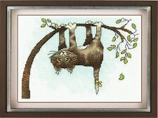 """Counted Cross Stitch Kit Make Your Own Hands - """"Help me!"""""""